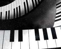 Dekoracja pr. 4 pianino
