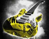 Dekoracja pr. 4 gitara